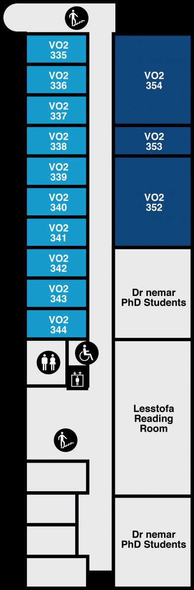 Yfirlitsmynd af VR-II: 3. hæð