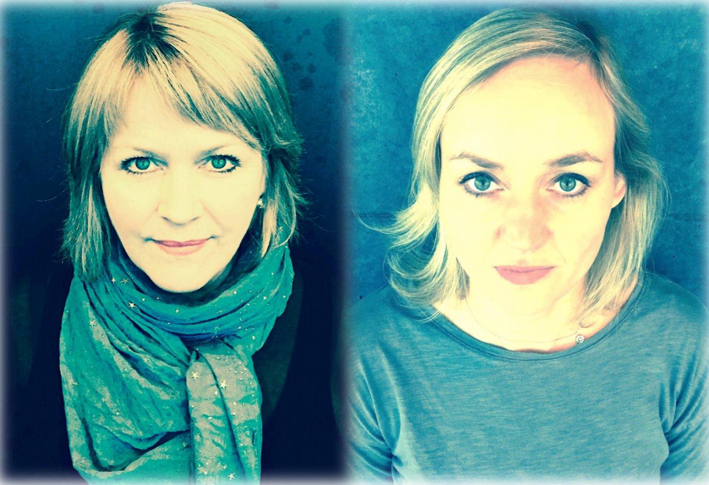 Auður Gunnarsdóttir og Eva Þyri Hilmarsdóttir