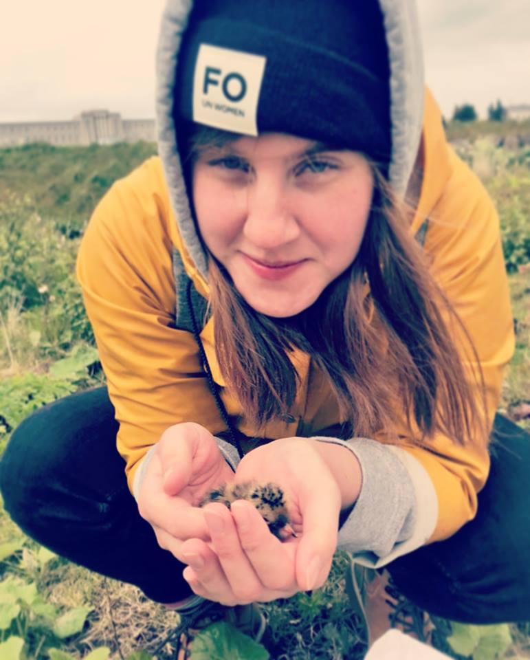 Hrafnhildur Vala Friðriksdóttir, BS-nemi í líffræði