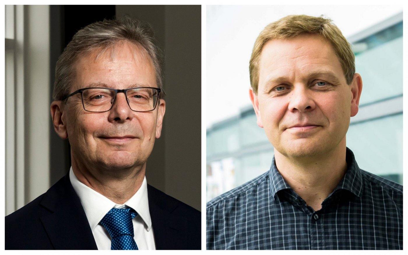 Jón Atli Benediktsson og Magnús Tumi Guðmundsson