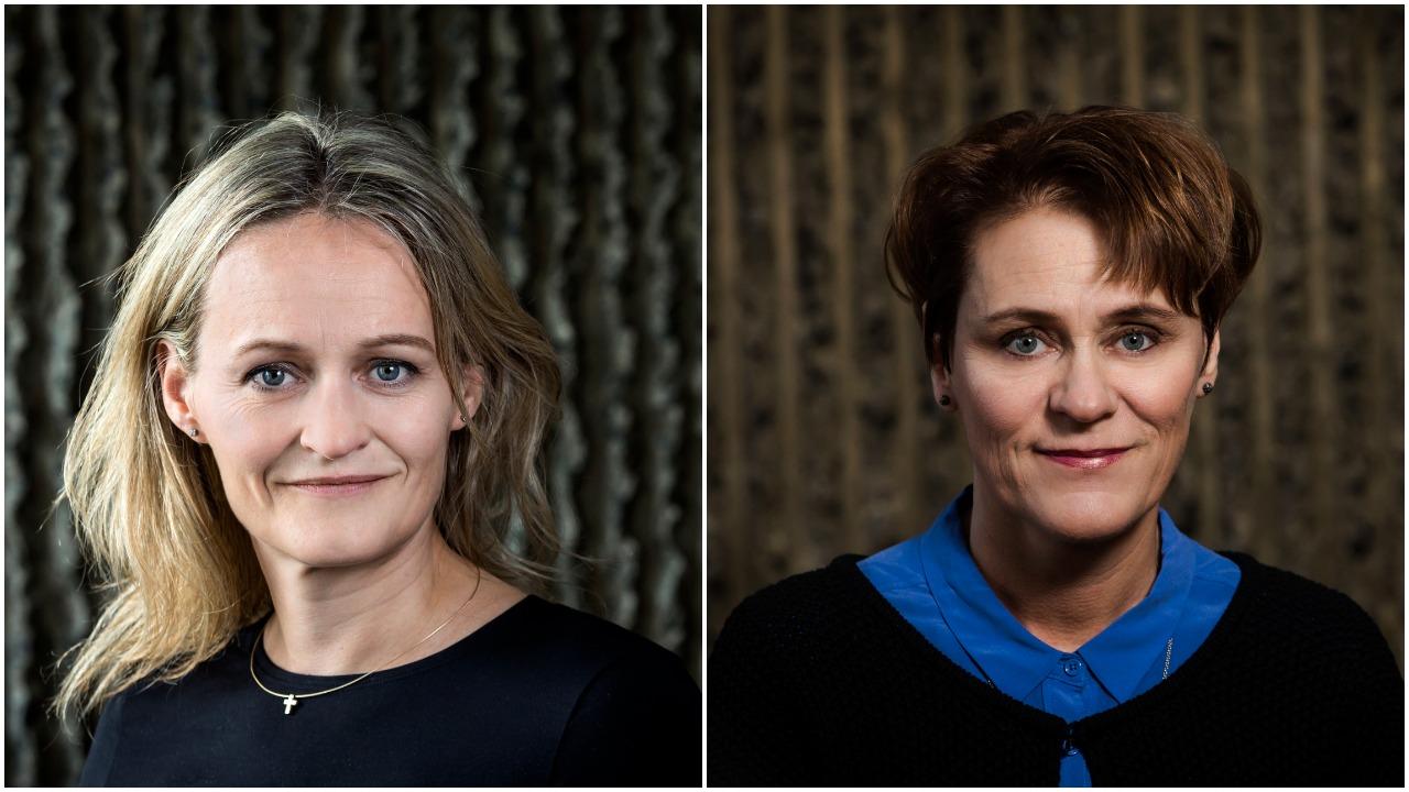 Ása Ólafsdóttir og Björg Thorarensen