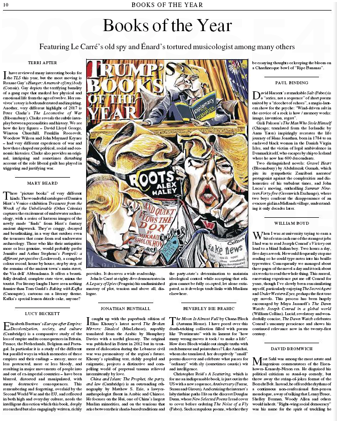 Úr nýju hefti Times Literary Supplement