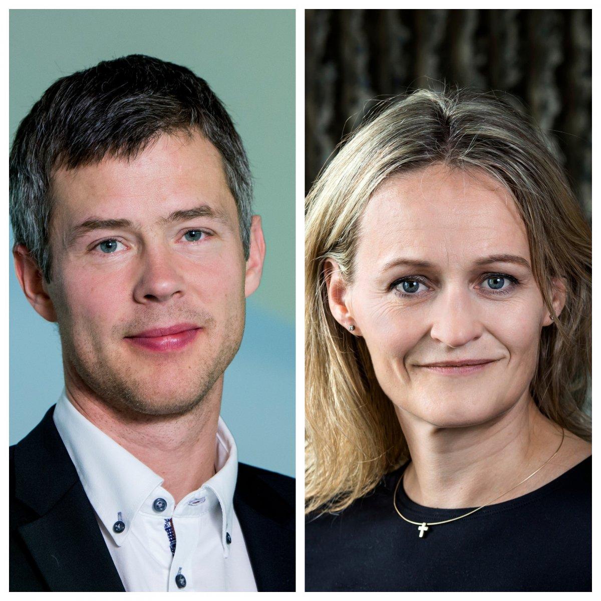 eiríkur Jónsson og Ása Ólafsdóttir