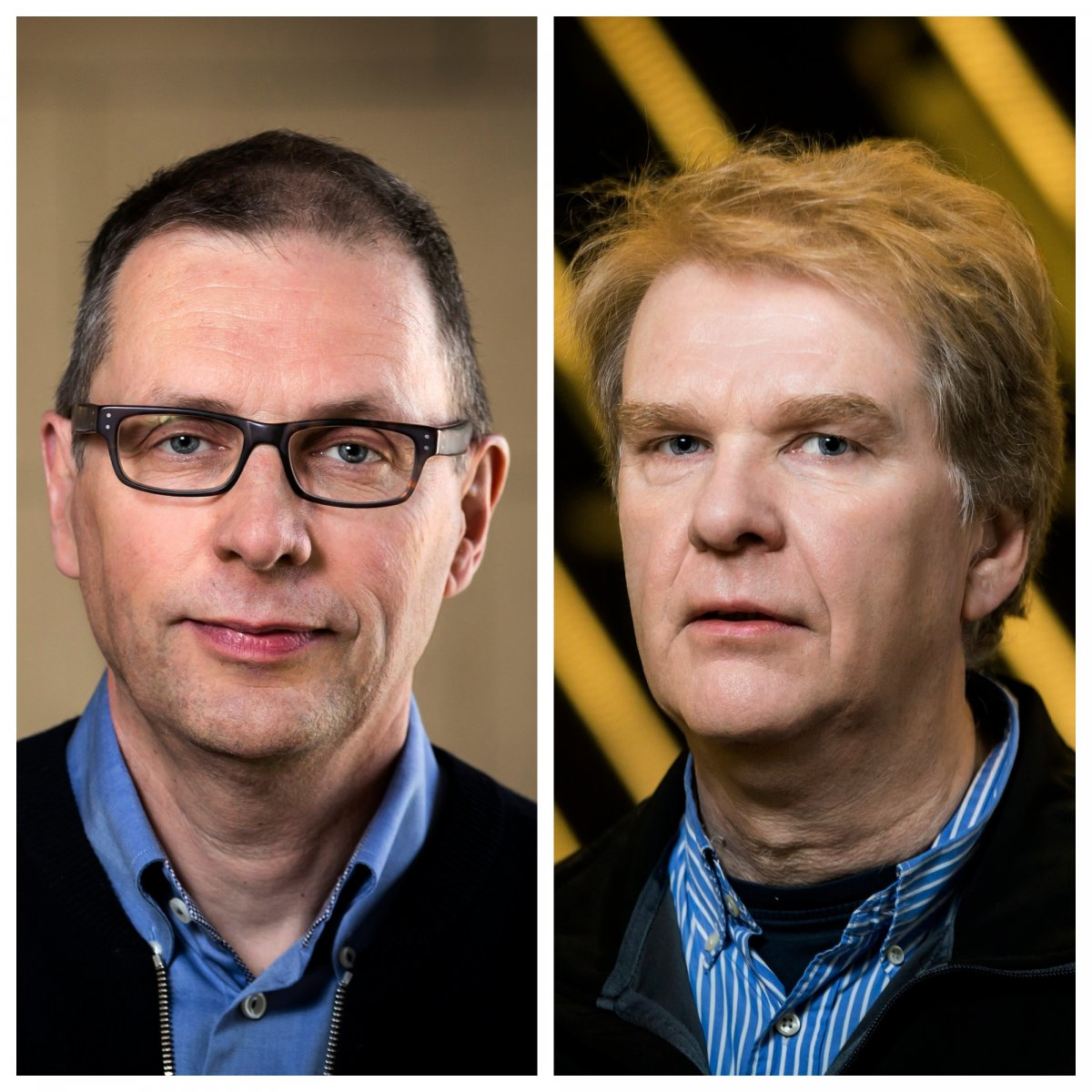Eiríkur Steingrímsson og Guðmundur Hrafn Guðmundsson