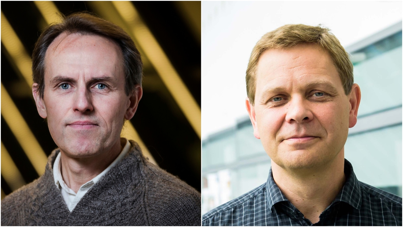 Freysteinn Sigmundsson og Magnús Tumi Guðmundsson