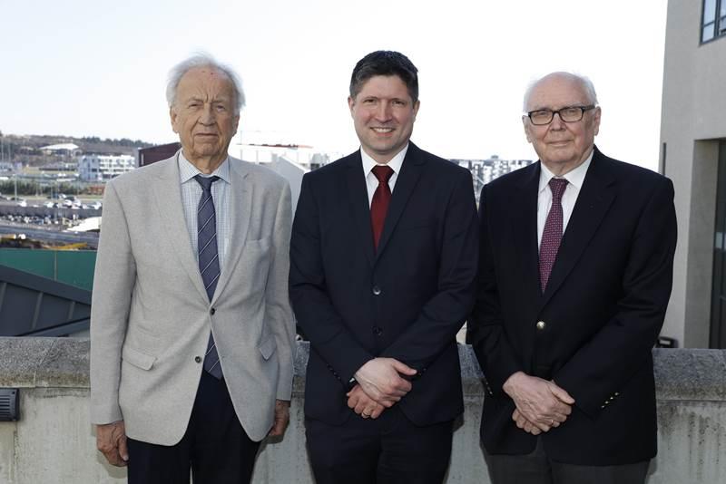 Árni Kristinsson, Hans Tómas Björnsson og Þórður Harðarson