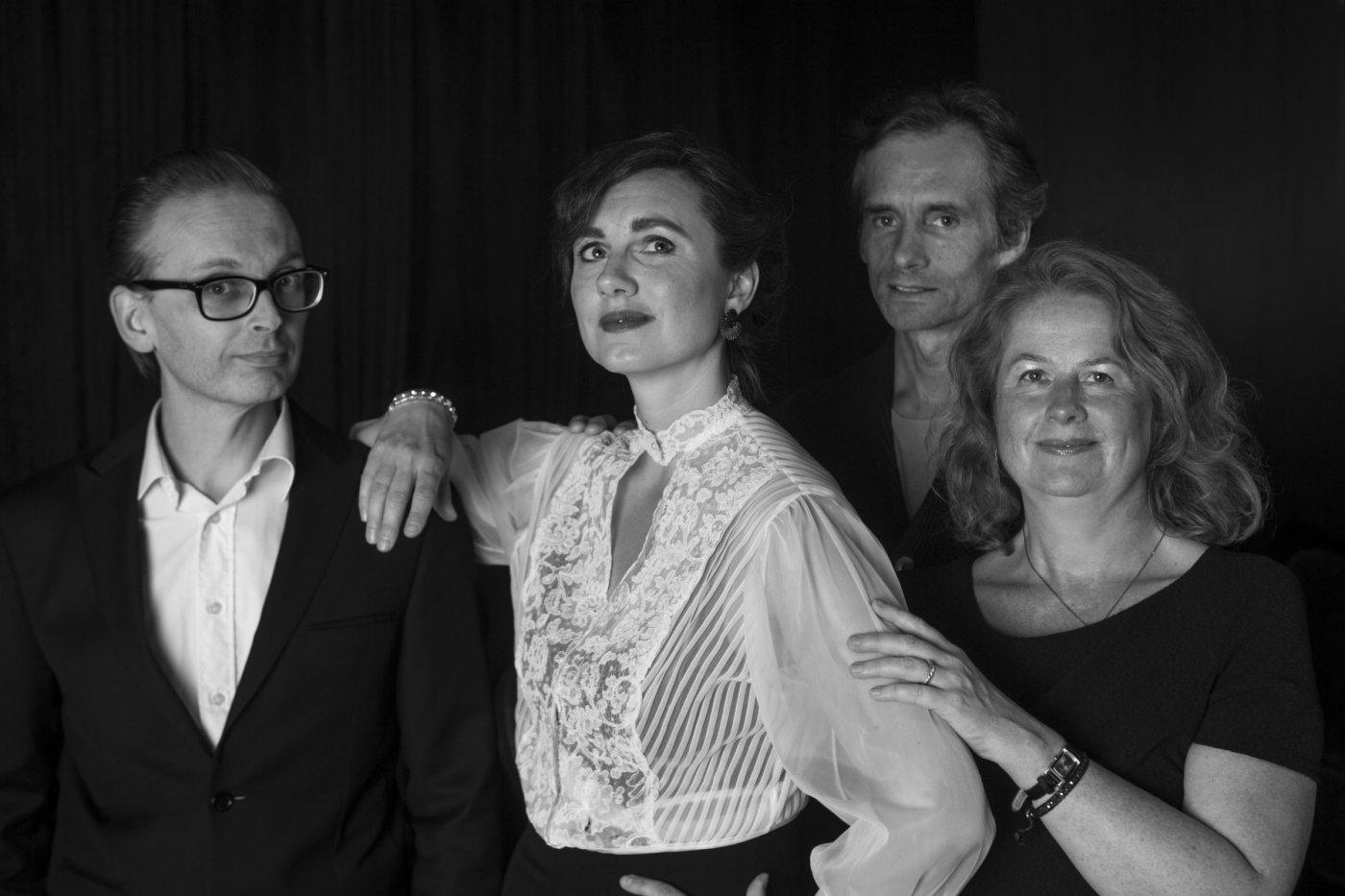 Erik Qvick, Valgerður Guðnadóttir, Guðjón Steinar Þorláksson og Helga Laufey Finnbogadóttir