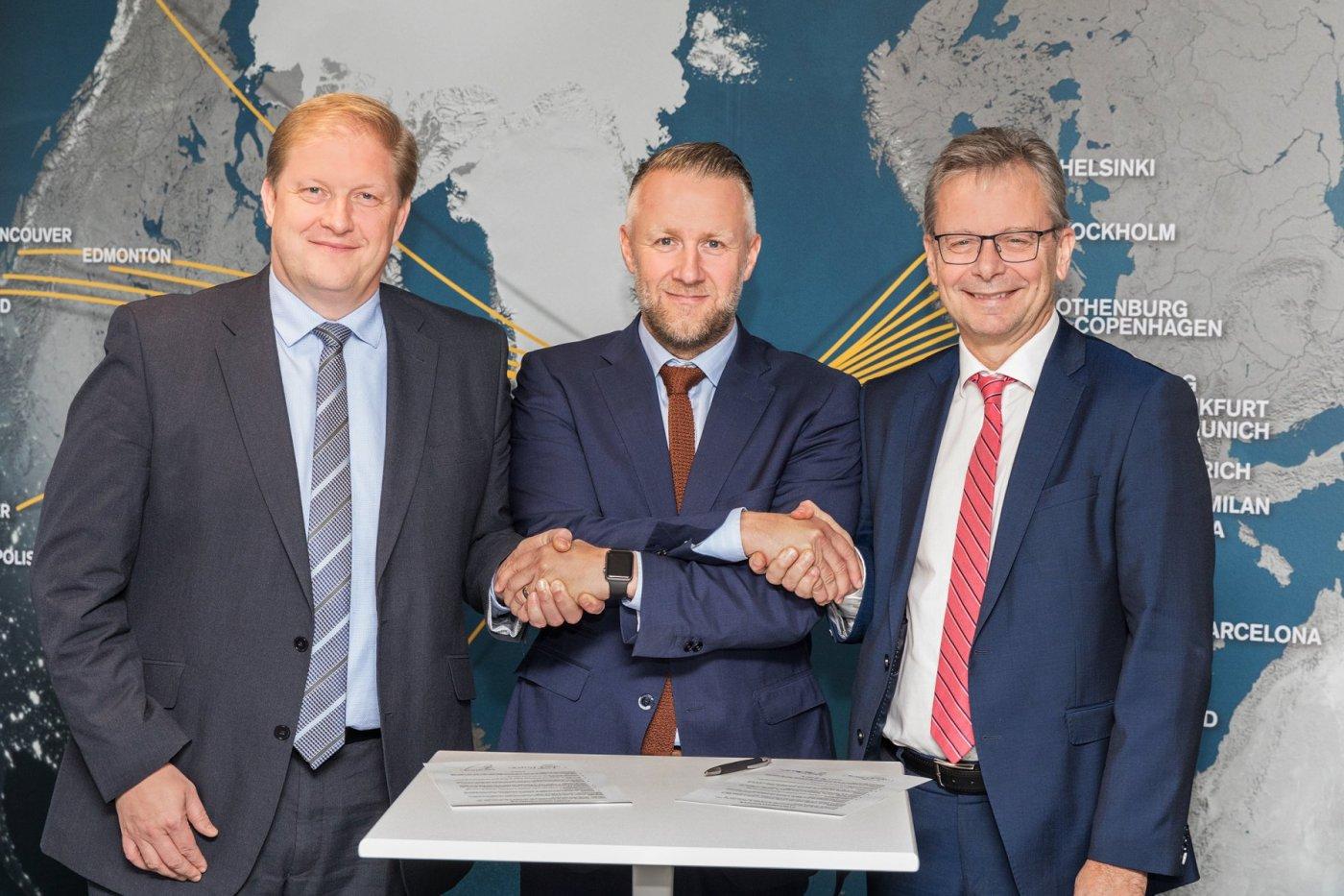 Ari Kristinn Jónsson, Birkir Hólm Guðnason og Jón Atli Benediktsson.