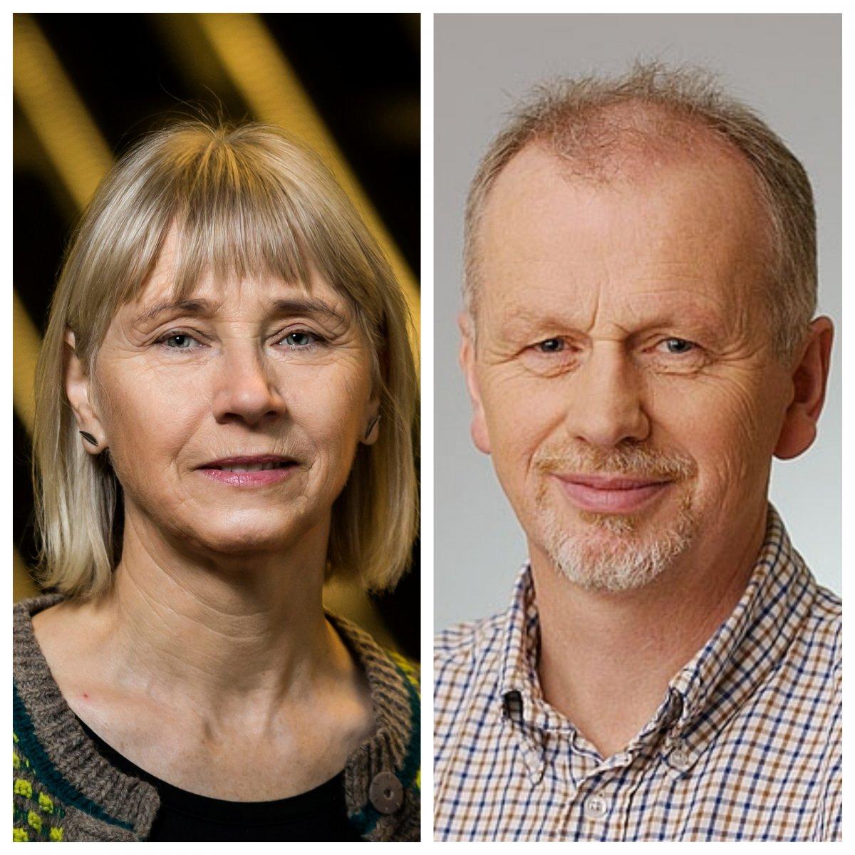 Ingibjörg Svala Jónsdóttir og Borgþór Magnússon