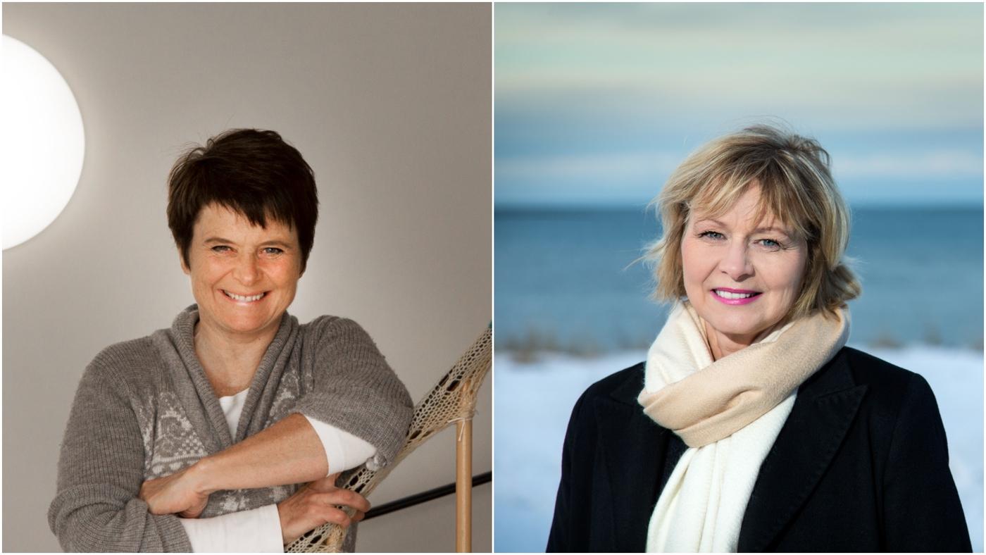 Jóhanna Thlema Einarsdóttir og Sigríður Ólafsdóttir