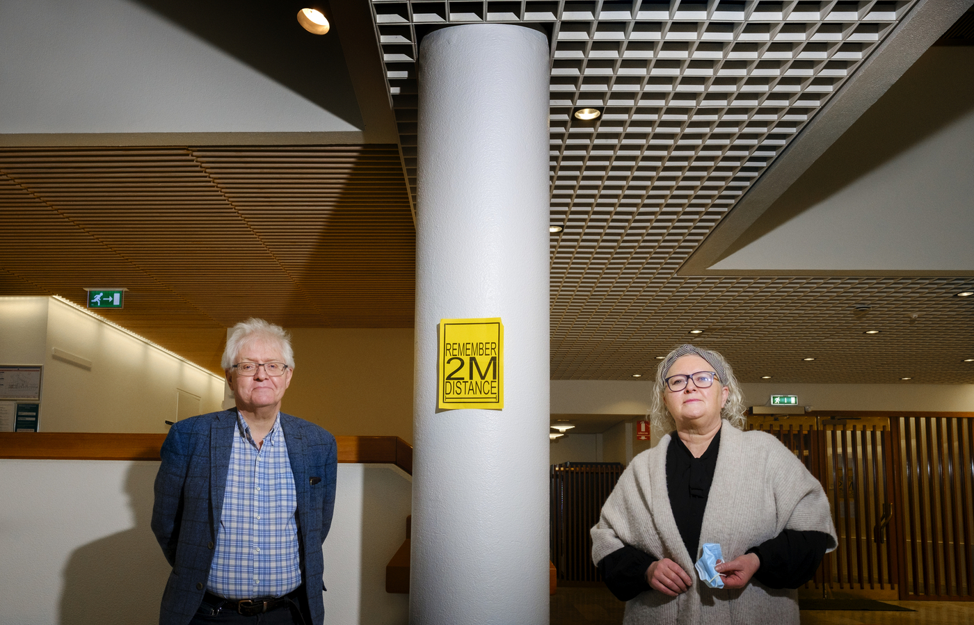 Ingólfur V. Gíslason og Guðný Björk Eydal