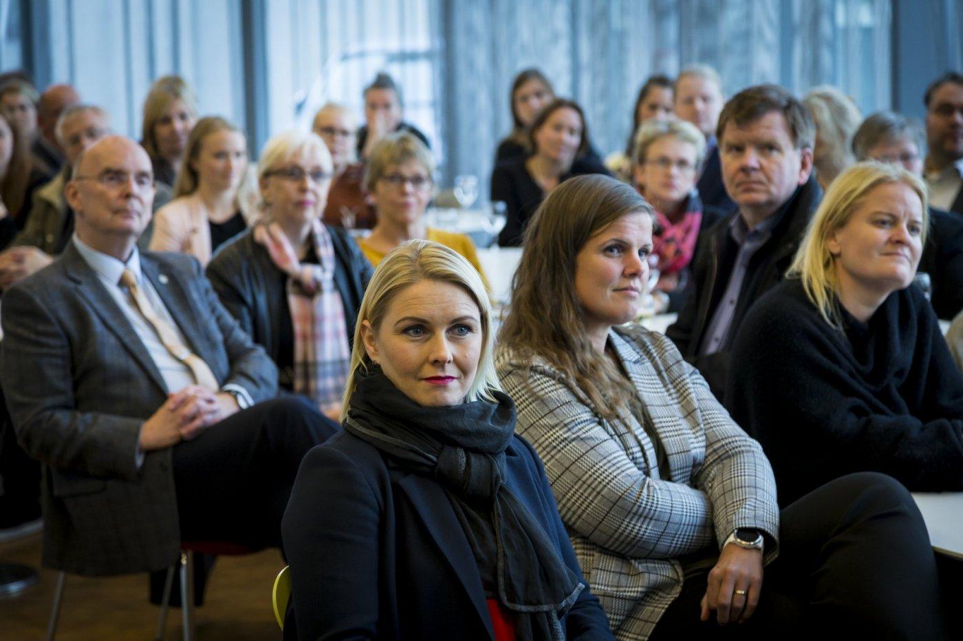 Gestir á hátíðardagskrá