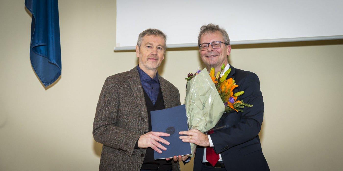 Vilhjálmur Árnason og Jón Atli Benediktsson