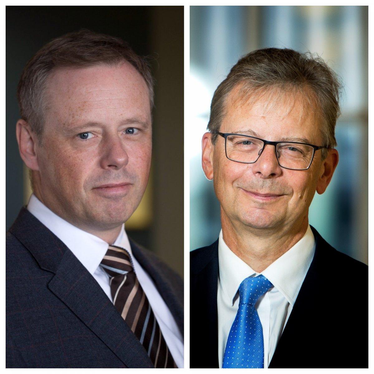 Páll Matthíasson og Jón Atli Benediktsson