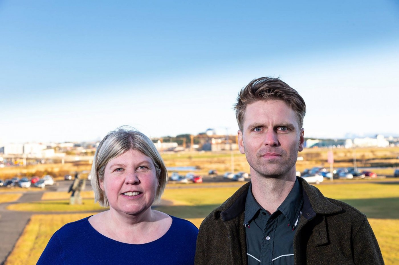 Sigrún Ólafsdóttir og Kjartan Páll Sveinsson