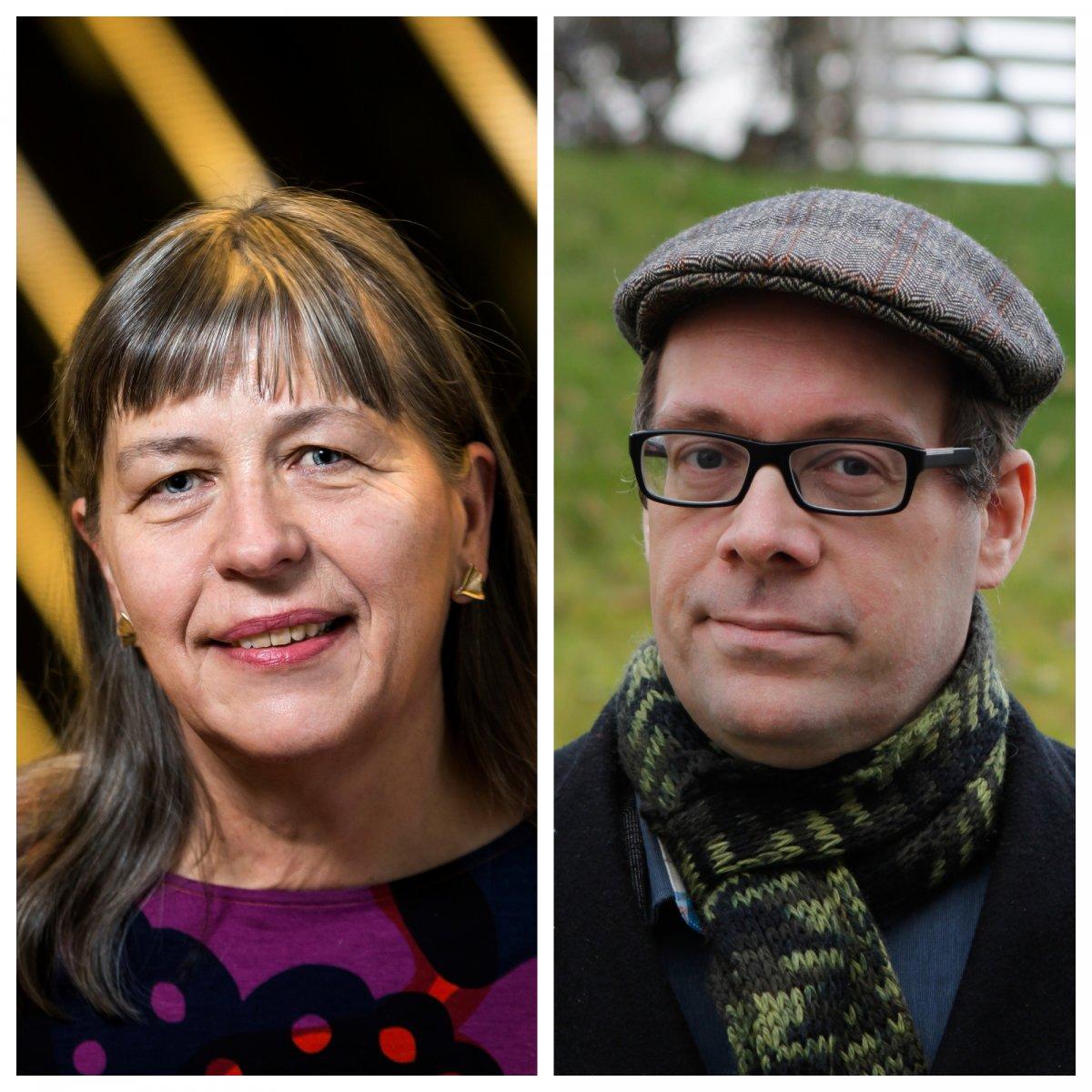 Þóra Ellen Þórhallsdóttir og Sverrir Jakobsson