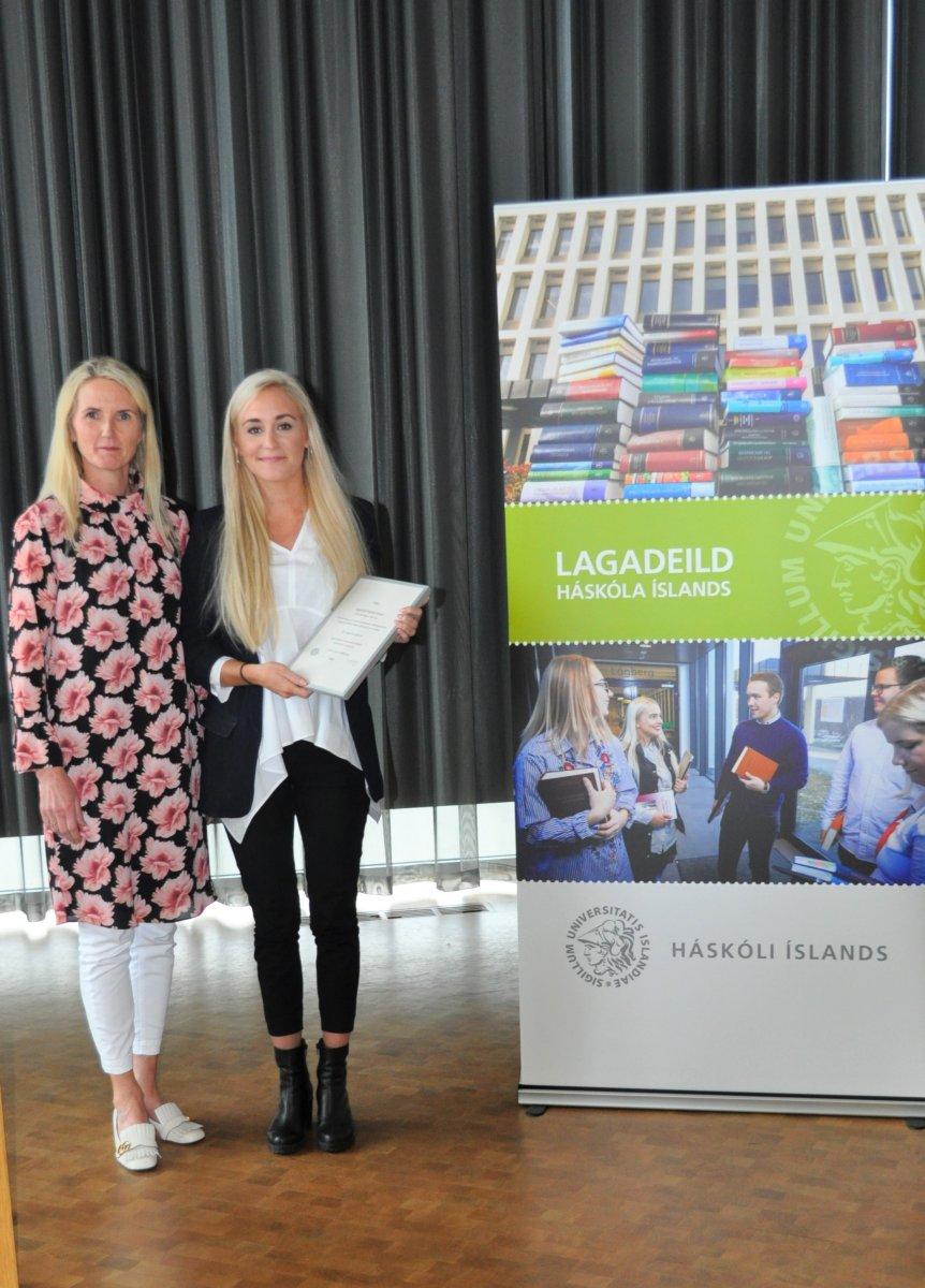 Ýr Sigurðardóttir og Helga Melkorka Óttarsdóttir hrl.