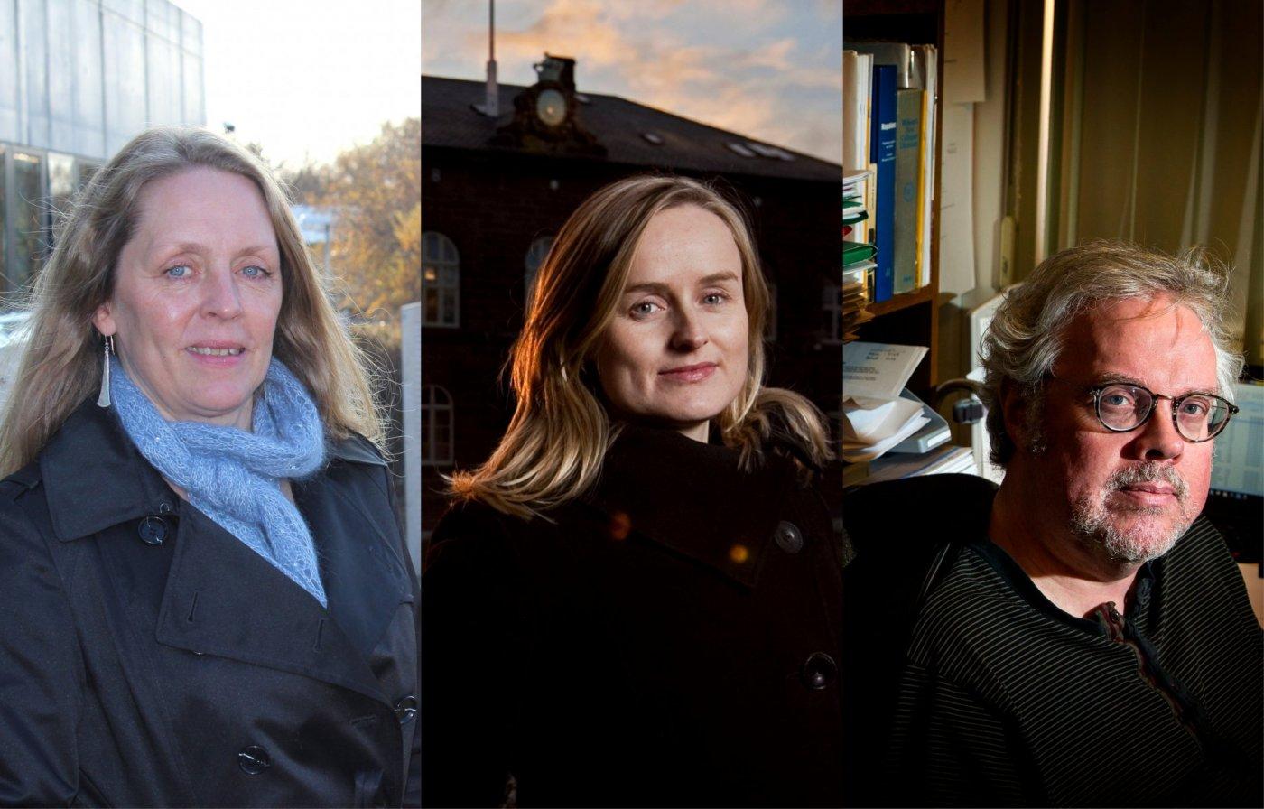 Guðbjörg Andrea Jónsdóttir, Hulda Þórisdóttir og Gunnar Helgi Kristinsson
