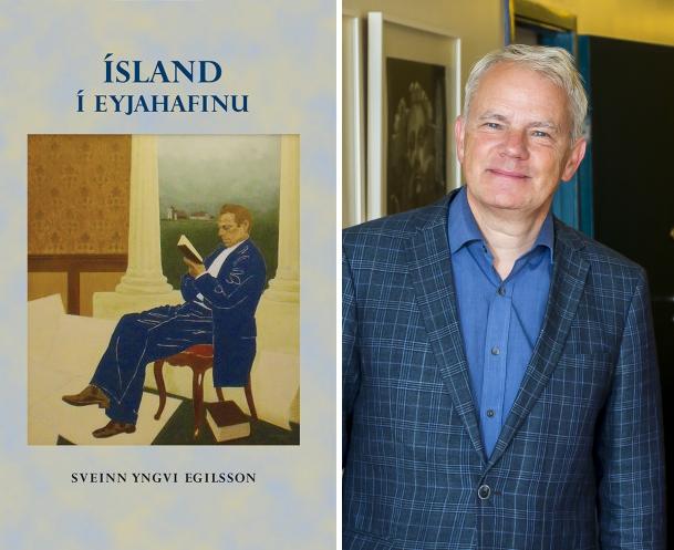Sveinn Yngvi Egilsson er höfundur bókarinnar Ísland í Eyjahafinu