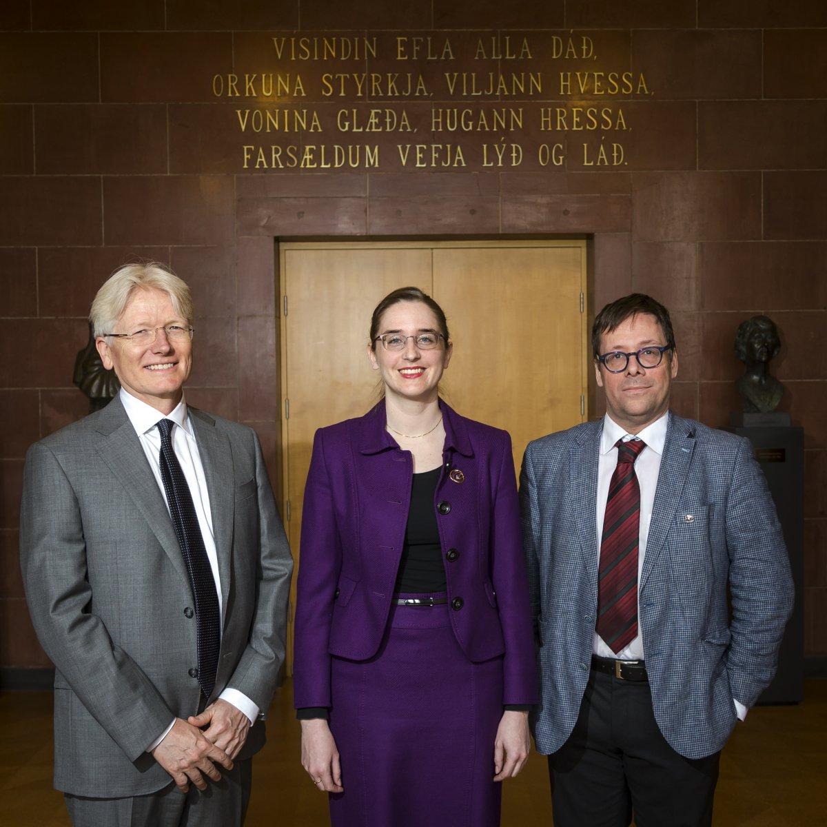 Torfa Tulinius, Anna Katharina Heiniger og Ármann Jakobsson