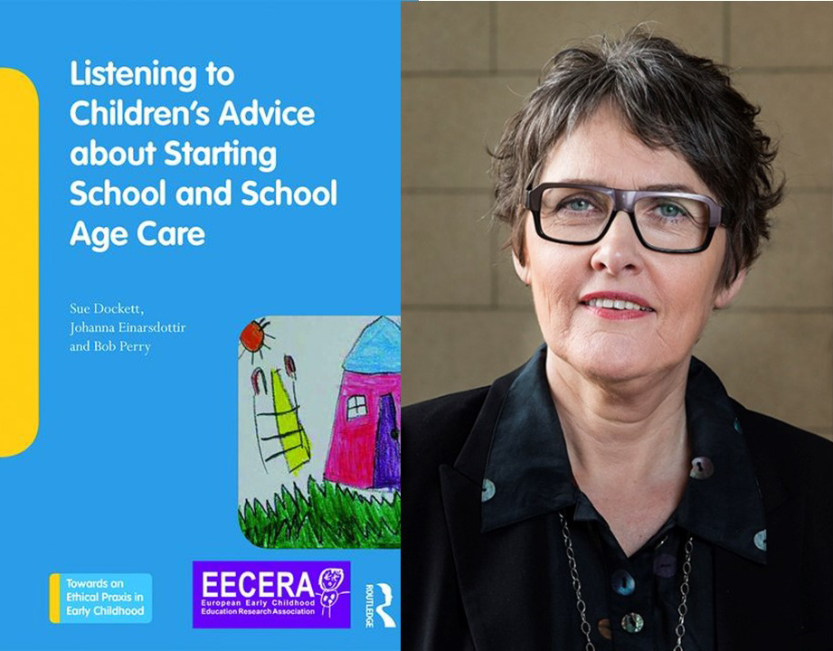 Út er komin bókin Listening to Children's Advice about Starting School and School Age Care hjá Routledge bókaforlaginu. Jóhanna Einarsdóttir, prófessor við Háskóla Íslands, er ein þriggja ritstjóra bókarinnar.