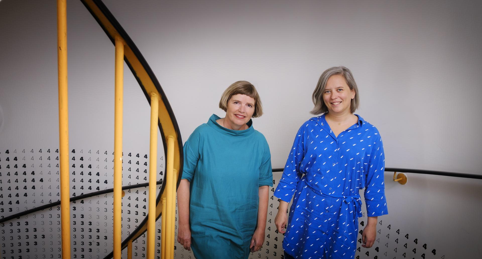 Aðstandendur rannsóknarinnar, Annadís Greta Rúdólfsdóttir og Auður Magndís Auðardóttir.