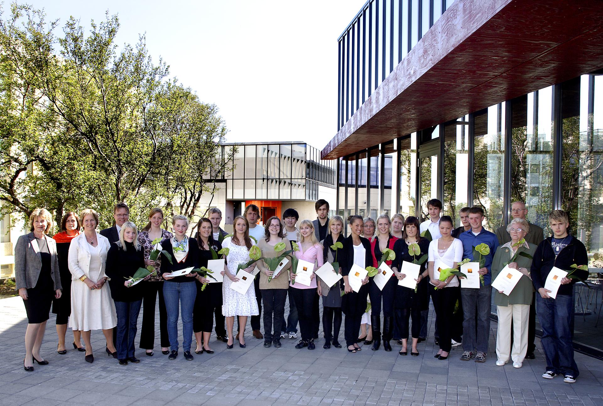 Styrkþegar 2008