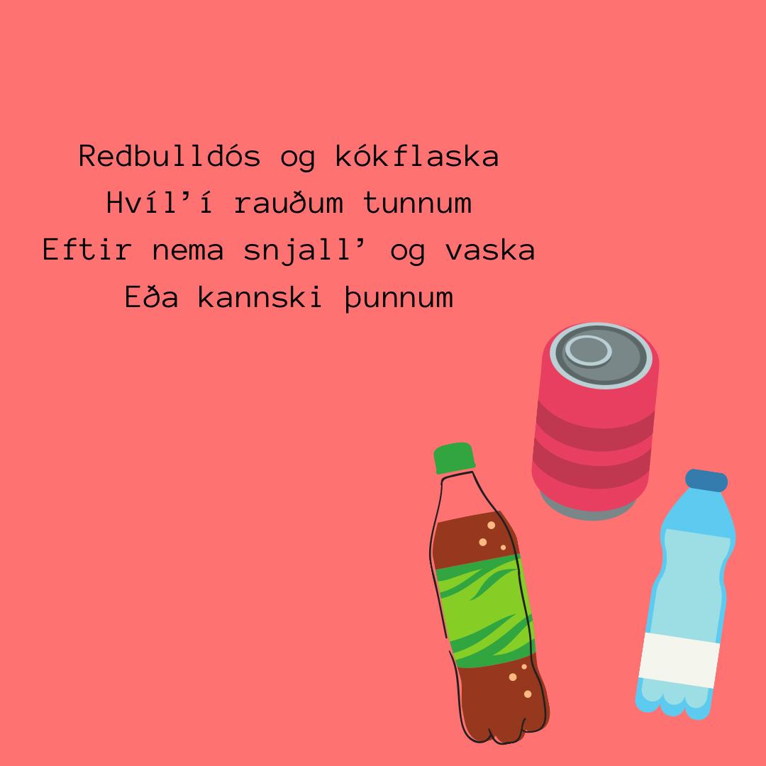 Flokkunarleiðbeiningar í formi ljóðs