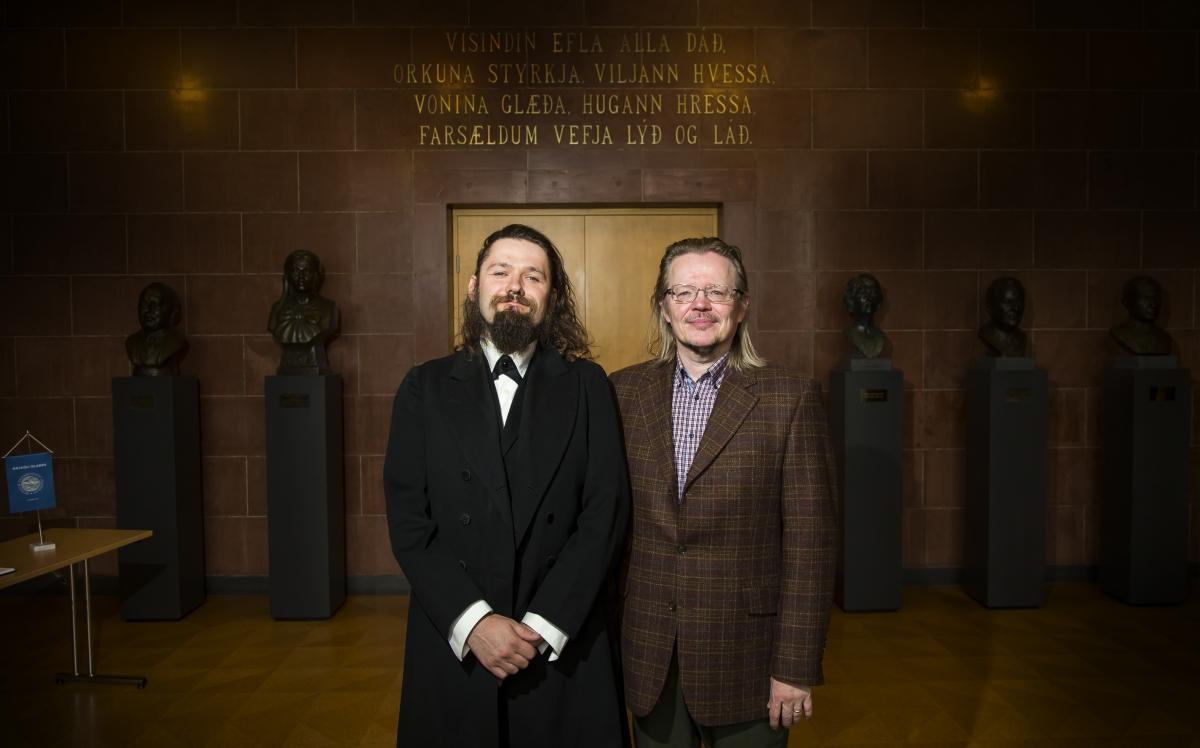 Gunnar Theodór Eggertsson og Guðni Elísson