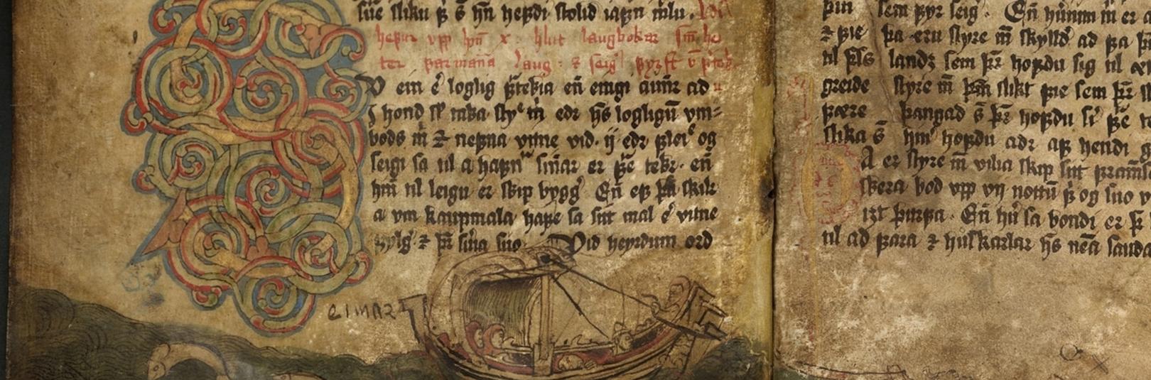 Landflótti, landnám ogáföll í Íslendingasögum - á vefsíðu Háskóla Íslands