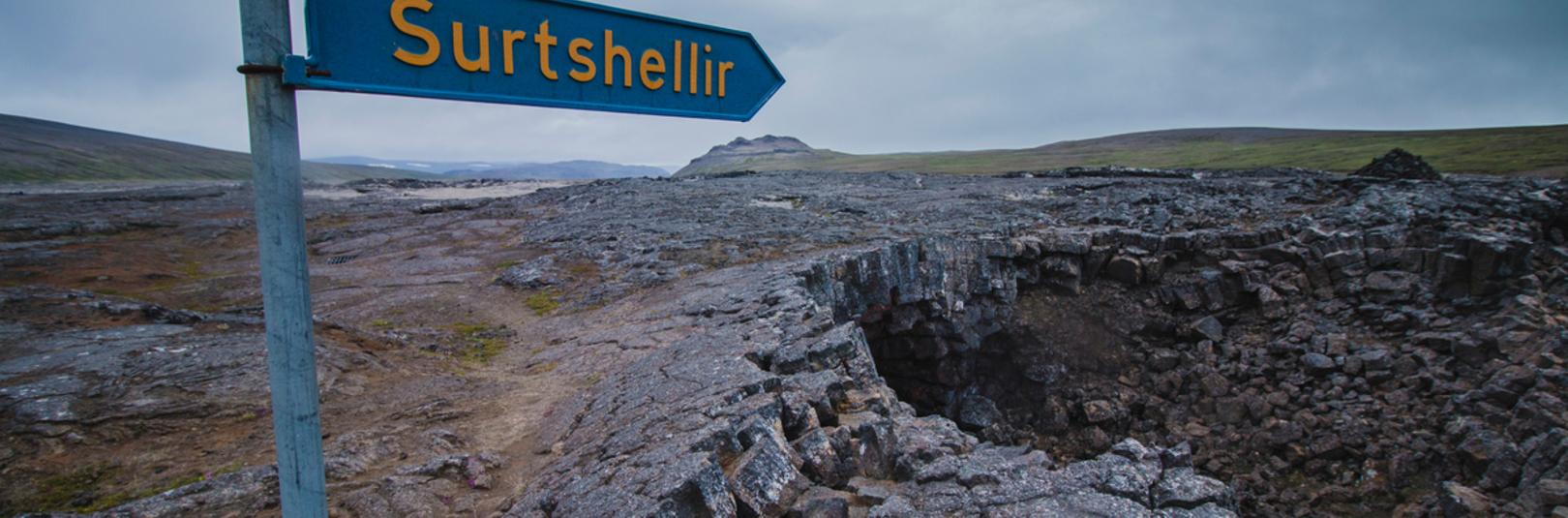 Surtshellir í sýndarveruleika - á vefsíðu Háskóla Íslands