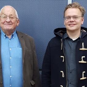 Arnþór Garðarson og Óttar Rolfsson