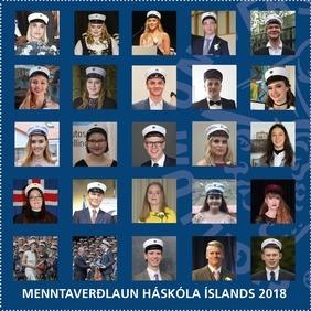 Framúrskarandi nemar hljóta Menntaverðlaun Háskóla Íslands