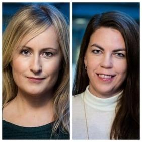 Unnur Anna Valdimarsdóttir og Arna Hauksdóttir