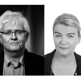 Sunna Símonardóttir nýdoktor í félagsfræði og Ingólfur V. Gíslason dósent í félagsfræði.