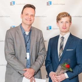 Helgi Áss Grétarsson, dósent og Fjölnir Ólafsson MA nemi við Lagadeild