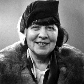 Frú Anna Friðriksson, eigandi Hljóðfærahúss Reykjavíkur