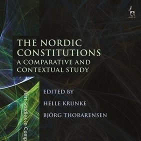 Bókakápa bókarinnar The Nordic Constitutions – A Comparative and Contextual Study
