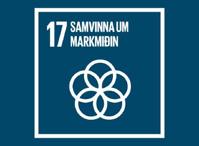 Heimsmarkmið 17 -Samvinna um markmiðin