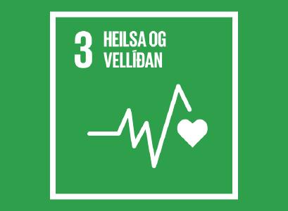 Heimsmarkmið 3- Heilsa og vellíðan