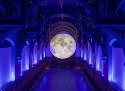 Listaverkið Museum of the Moon