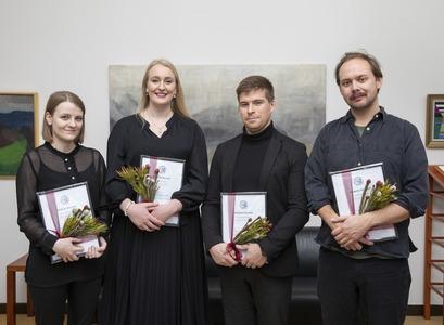 Frá vinstri: Sólveig Steinþórsdóttir, Bryndís Guðjónsdóttir, Lárus Sindri Lárusson og Pétur Eggertsson.