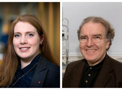 Sandra Mjöll Jónsdóttir-Buch og Einar Stefánsson