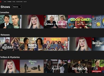 Eyrún í Netflix-umhverfi
