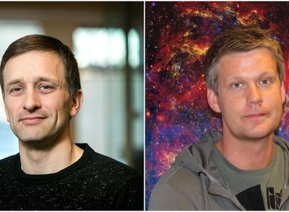 Guðlaugur Jóhannesson og Páll Jakobsson