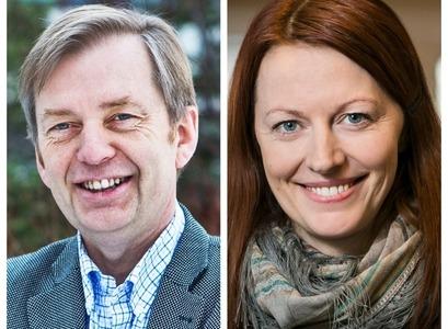 Gunnar Stefánsson og Anna Helga Jónsdóttir