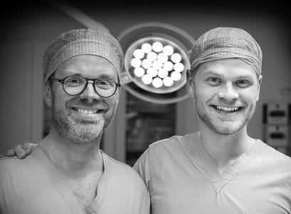 Tómars Guðbjartsson og Hannes Halldórsson