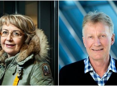 Jóhanna Gunnlaugsdóttir og Sigurður Reynir Gíslason