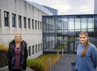 Þórhildur Jetzek og Erla Björg Sigurðarsdóttir
