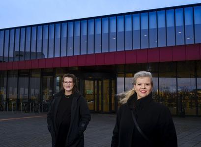 Guðrún Svana Hilmarsdóttir og María Guðjónsdóttir